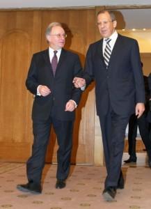 Сергей Мыртынов и Сергей Лавров