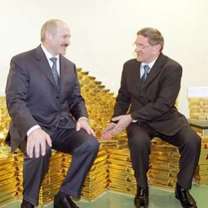 Александр Лукашенко и Петр Прокоповичь