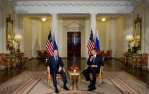 Д. Медведев и Б. Обама