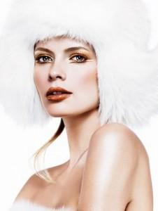 Новогодний макияж - Золотая Богиня