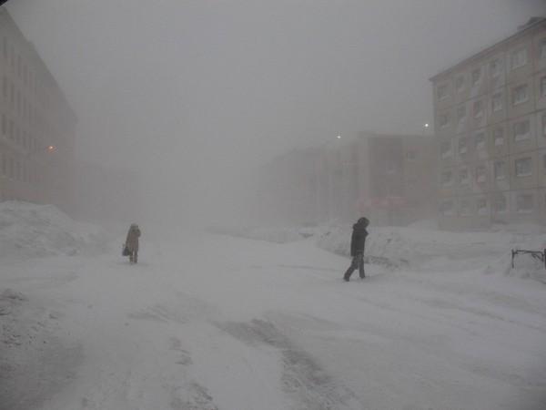 Якутия -43 градуса