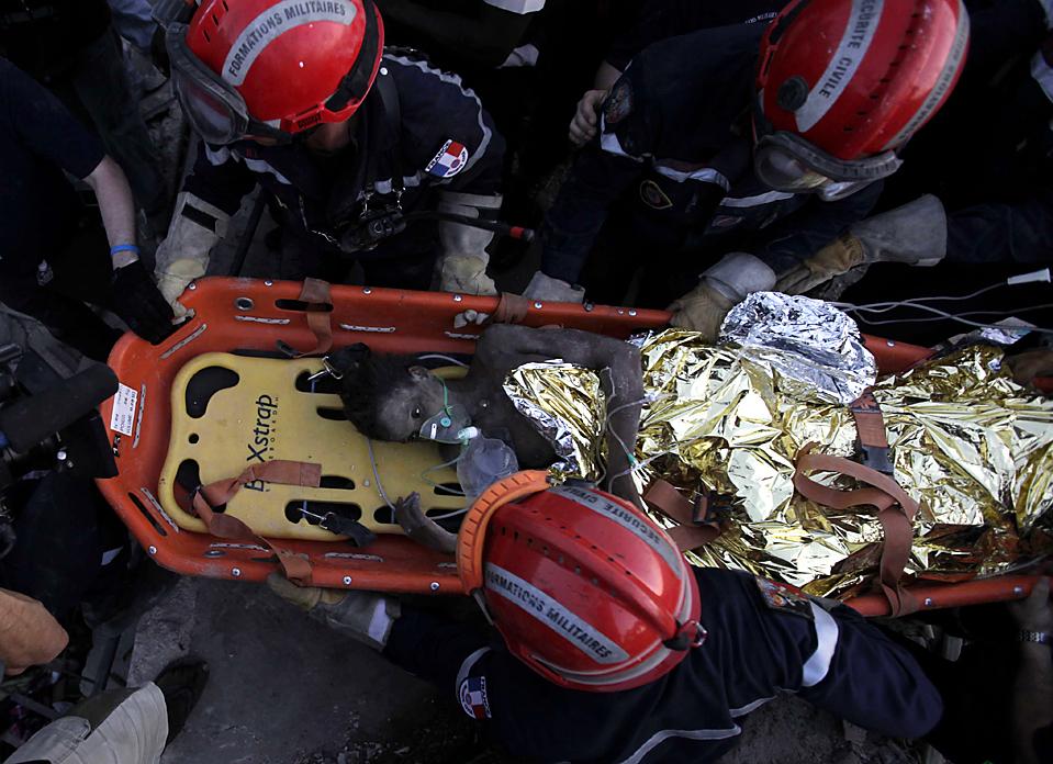 29.01.2010, Гаити, Порт-о-Пренс
