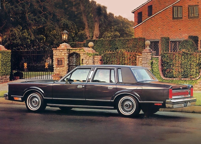 Lincoln Continental, 1981 года