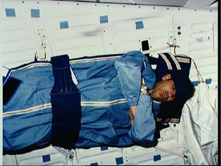 Космонавты практически не храпят