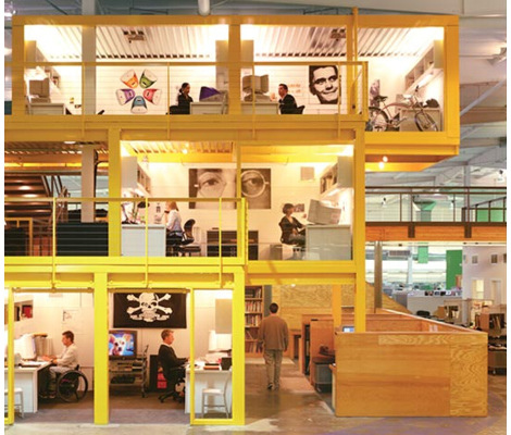 Офис компании Pallotta Teamworks