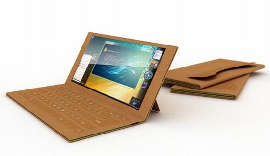 Бумажный ноутбук