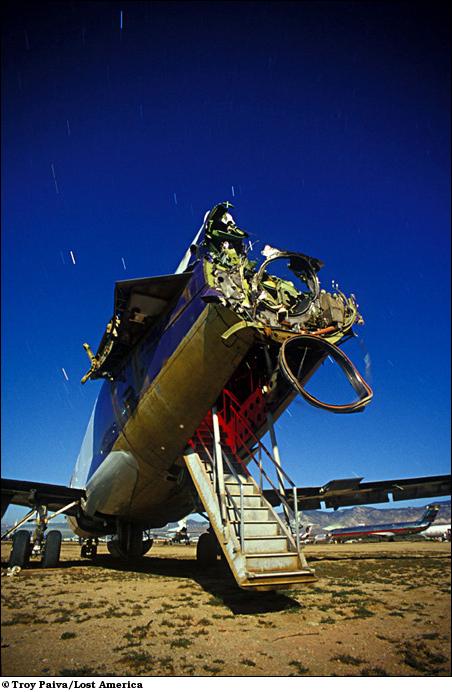 Бывший самолет FedEx