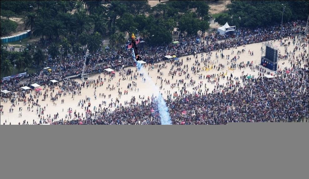 Red Bull Air Race в Рио-де-Жанейро