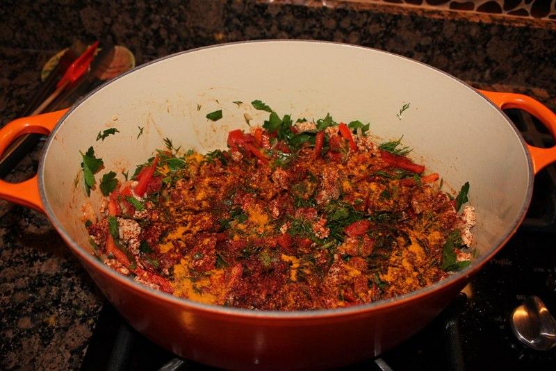 Мусака из цветной капусты по-турецки