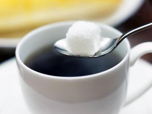 Кофе без сахара бесполезен