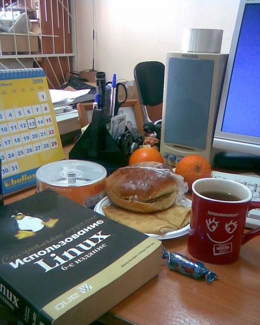 Правильное питание для работников офиса