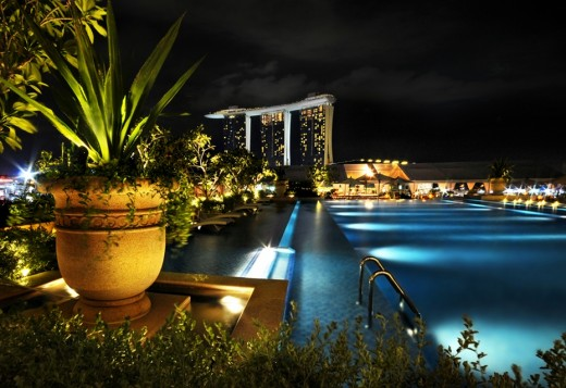 Отель Бухта Фуллертона в Сингапуре