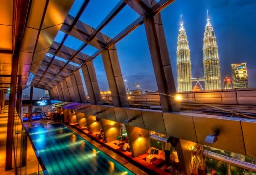 Небесный бар в Куала-Лумпур