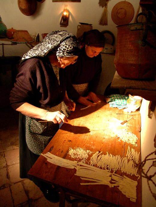 Сицилия, производства пасты