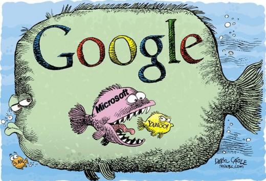 """Google обвинила Microsoft в """"безумном"""" плагиате"""
