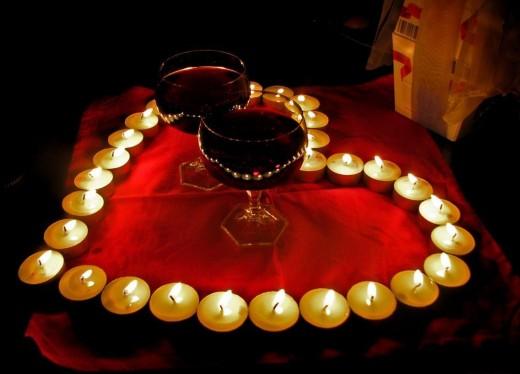 Как устроить романтический ужин для любимой женщины.