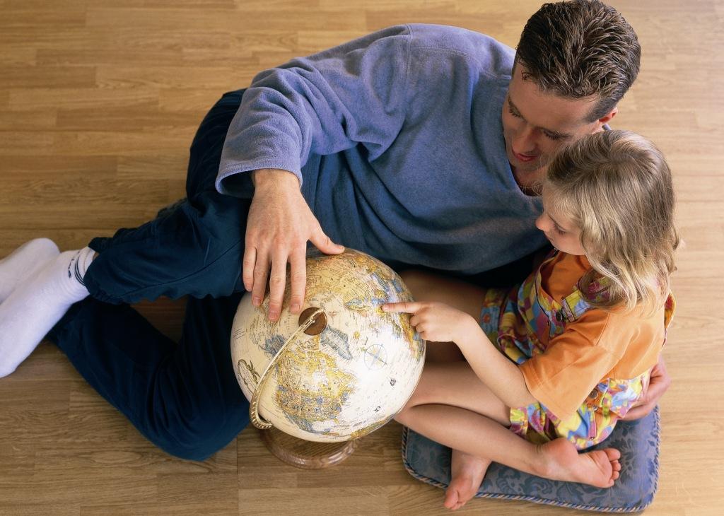 Картинки на тему отец и дети, картинка прикольная