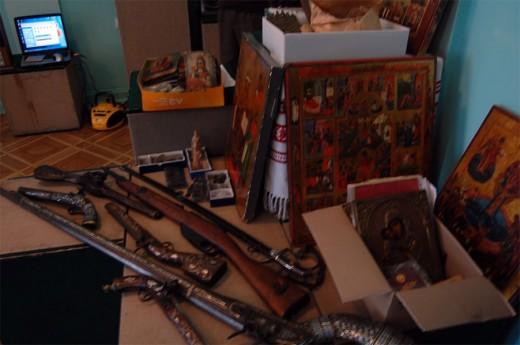 Контрабанда стала экспонатами музея