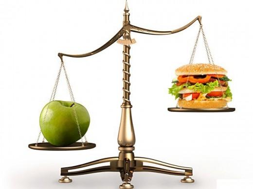 Уменьшение дневной нормы калорий за счет «лишних» продуктов