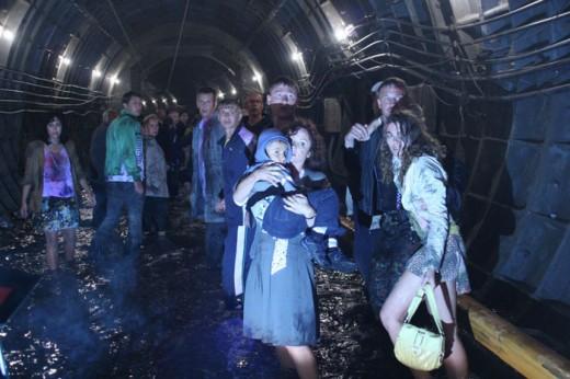 Фильм-катастрофа о столичном метро: репортаж с места событий