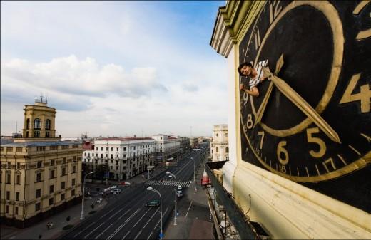 Российские блогеры показали минчанам Минск