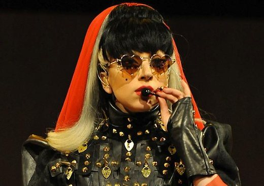 Леди Гага напугала Барака Обаму