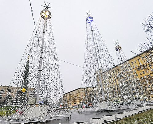Самые необычные елки Москвы