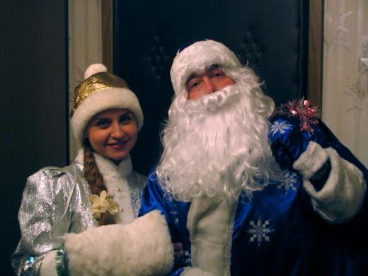 Я Дед Мороз, борода из ваты...