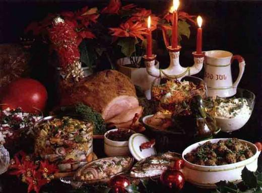Традиционные новогодние блюда
