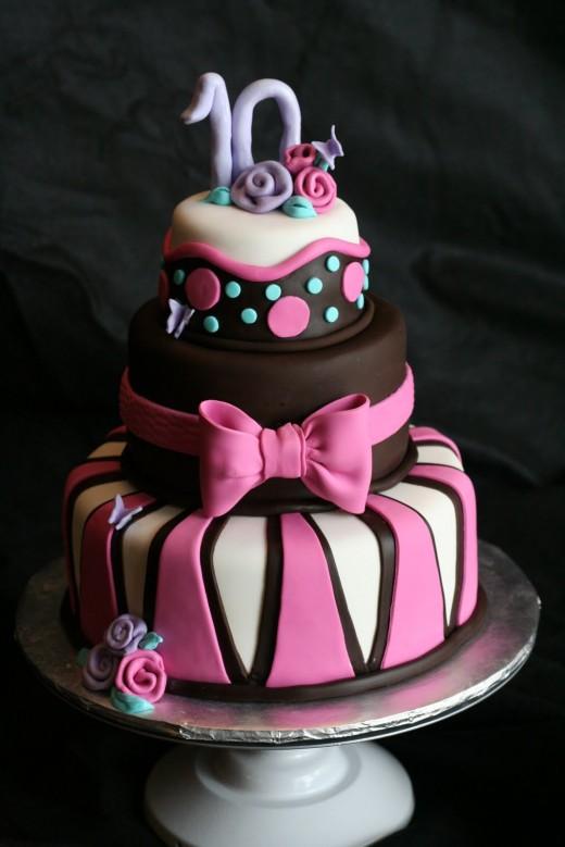 Детские торты - неотъемлемый атрибут праздника