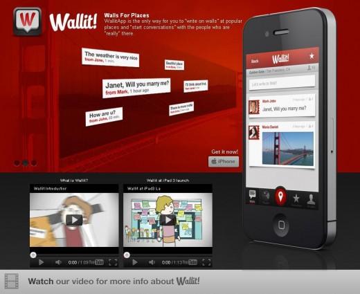 Wallit — новая геосоциальная сеть