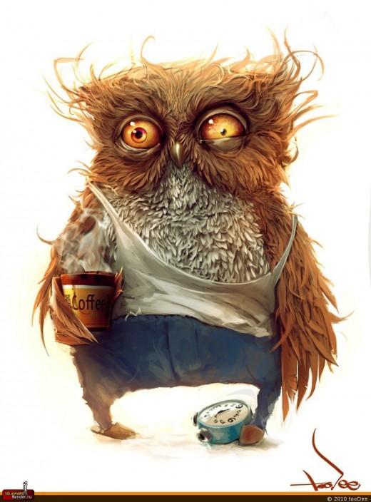 """""""Сову"""" кофе не разбудит"""