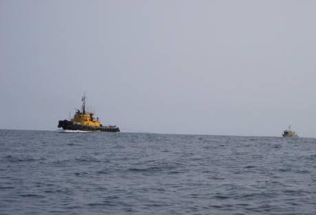 Компания ОАО «Совфрахт» успешно завершила морскую буксировку