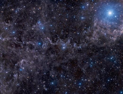 Астрономы опубликовали красивейшие снимки звезды Маркаб в созвездии Пегас