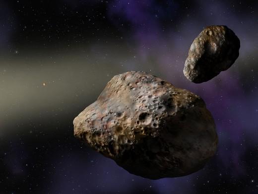 50-метровый астероид пролетел возле Земли