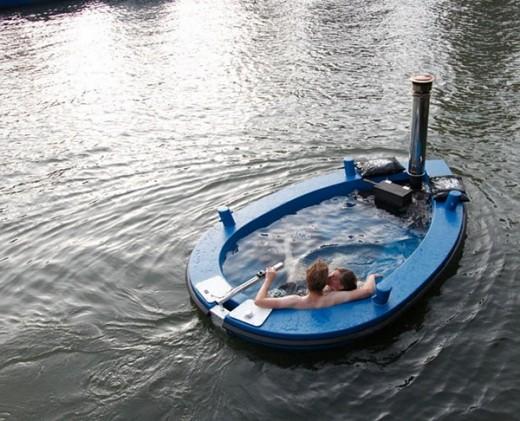 Лодка – джакузи, отдыхаем необычно