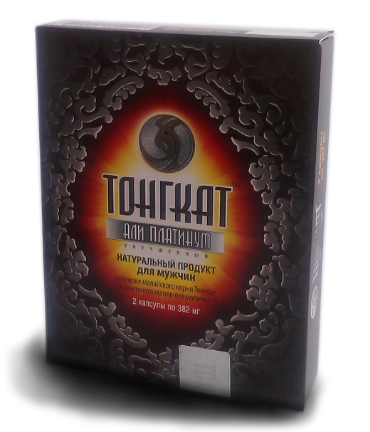 Интернет-магазин интим-товаров «Инь-Янь» предлагает «Тонгкат али платинум» — отличное средство для мужской силы