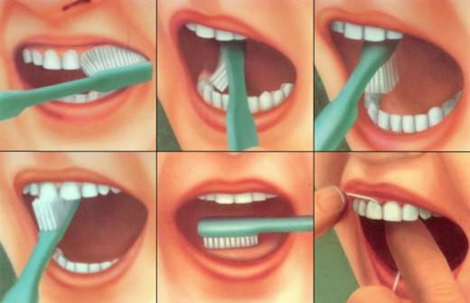 Более 70% людей не умеют правильно чистить зубы