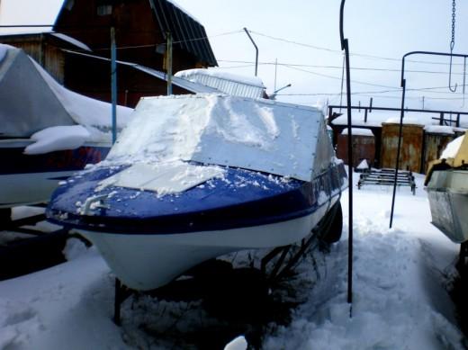 Подготовка водного транспорта к зимовке