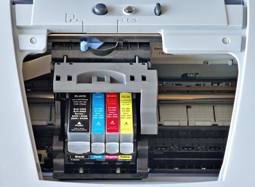 Какие бывают чернила для струйных принтеров?