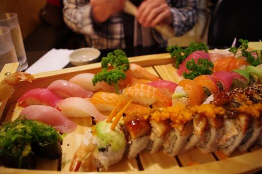 Как улучшить вкус суши