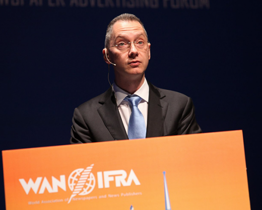 Глава UMHgroup Борис Ложкин стал единственным русскоязычным докладчиком на всемирном конгрессе издателей WAN-IFRA