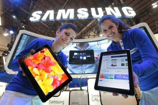 Samsung выпустит планшет-гигант с диагональю 12 дюймов
