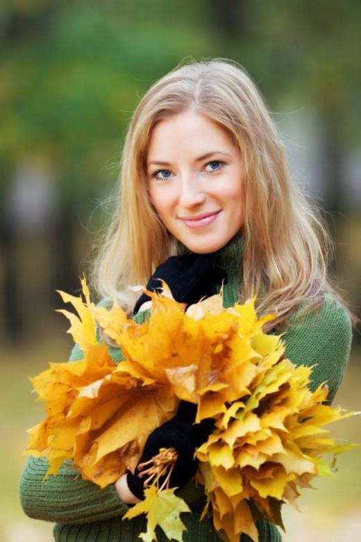 Осень и внешность