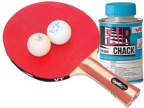 Ракетки для настольного тенниса - контроль качества