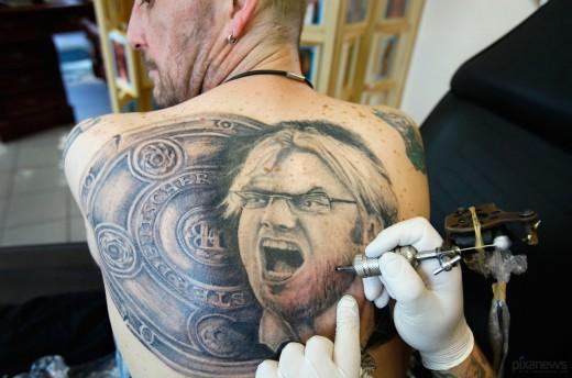 Татуировка - подсудное дело