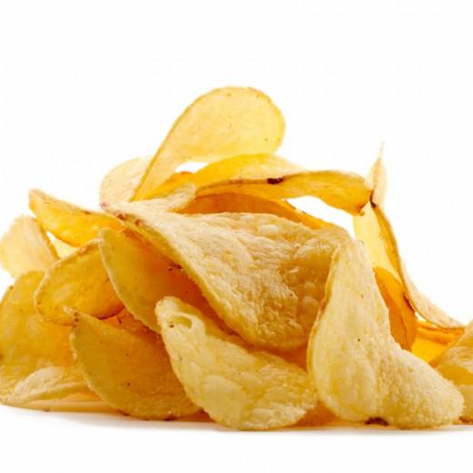 Самые желанные вкусности - чипсы и снеки