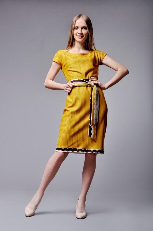 Эффектные трикотажные платья для каждой женщины