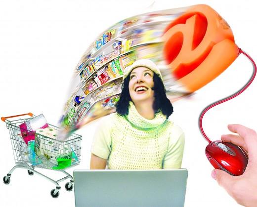 Покупка необходимых вещей, не выходя из дома
