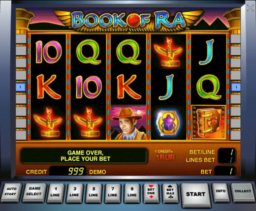 """Обзор игрового автомата """"Book of Ra"""""""